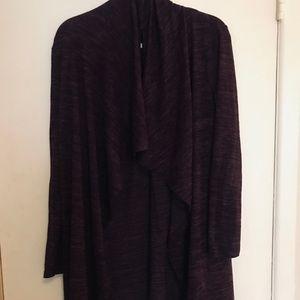 super soft comfy wrap around cardigan/pos. dress